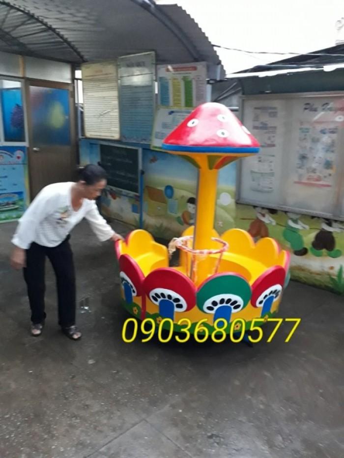 Cần bán trò chơi đu quay, mâm xoay cho trường mầm non, công viên, khu vui chơi18