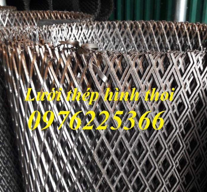 Lưới thép hình thoi, lưới dập giãn, lưới thép kéo giãn4