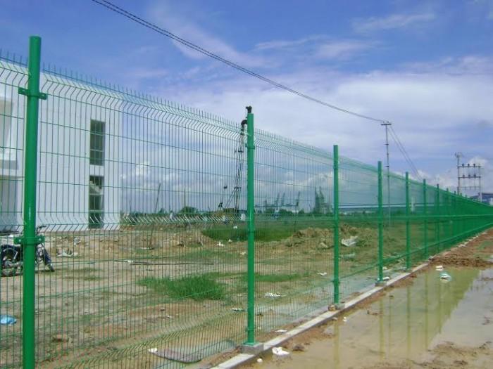 Hàng rào chấn sóng phi 4.5.6 mạ kẽm sơn tĩnh điện1