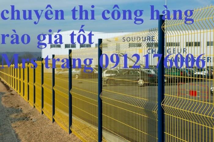Hàng rào chấn sóng phi 4.5.6 mạ kẽm sơn tĩnh điện8
