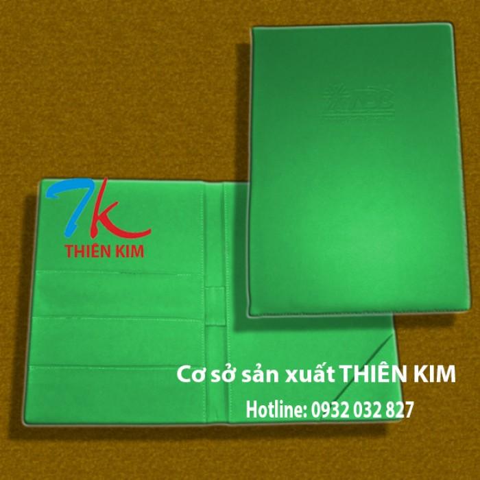Địa chỉ sản xuất bìa đựng hồ sơ da, bìa còng, nơi sản xuất bìa da đựng thông tin,4