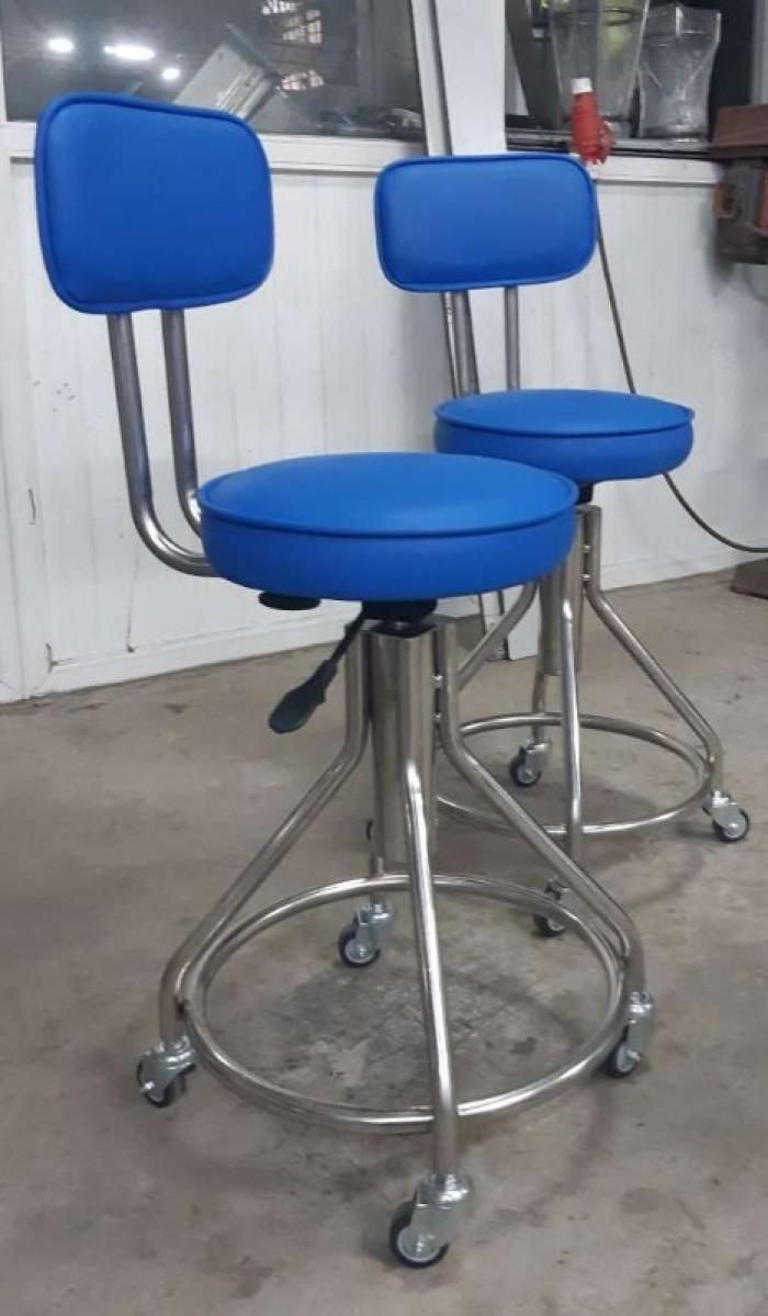 Ghế inox 304 dùng cho phòng thí nghiệm, phòng sạch7