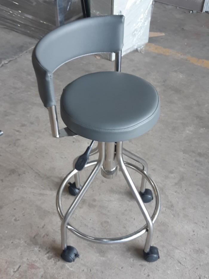Ghế inox 304 dùng cho phòng thí nghiệm, phòng sạch3