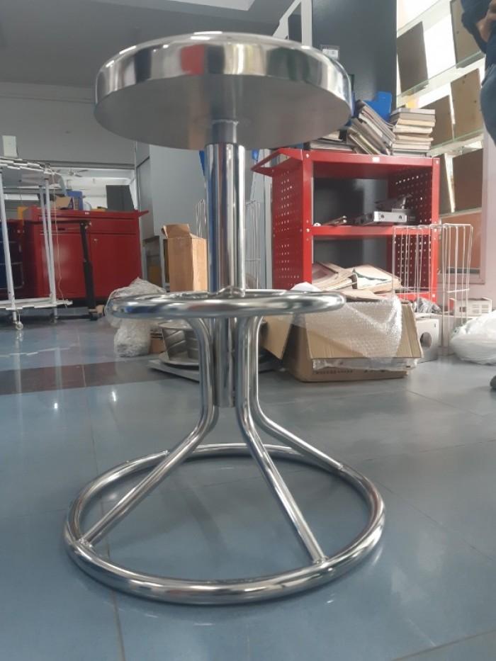 Ghế inox 304 dùng cho phòng thí nghiệm, phòng sạch1