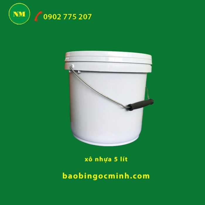 Can nhựa 5 lít - 10 lít đựng hóa chất Ngọc Minh1