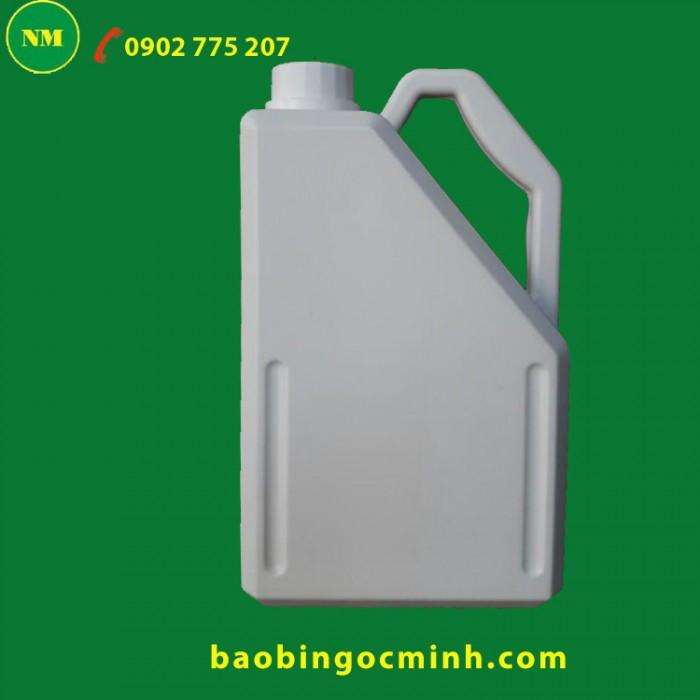 Can nhựa 5 lít - 10 lít đựng hóa chất Ngọc Minh4
