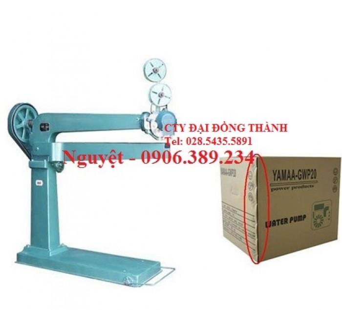 Máy đóng gói DẬP GHIM thùng carton WP1200 Đài Loan giá rẻ