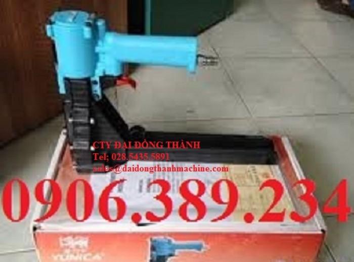 Súng bắn ghim thùng caton bằng hơi khí nén, dụng cụ bấm kim 3518