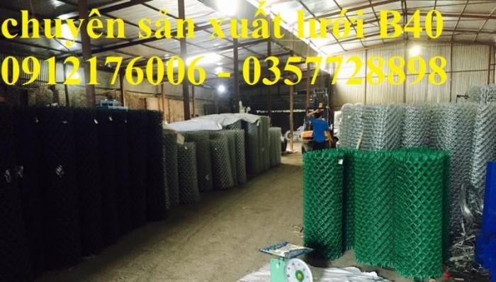 Lưới B40 bọc nhựa hàng luôn sẵn kho0