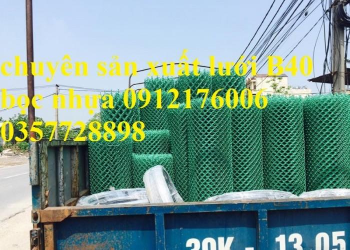 Lưới B40 bọc nhựa hàng luôn sẵn kho6