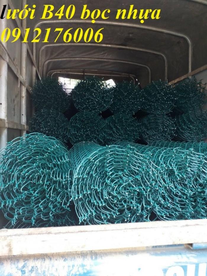 Lưới B40 bọc nhựa hàng luôn sẵn kho13