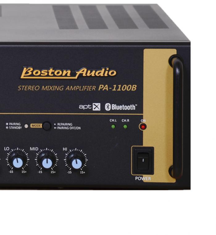 AMPLY BOSTON AUDIO PA-1100B mẫu mới 100%, chính hãng Hàn Quốc 100%1