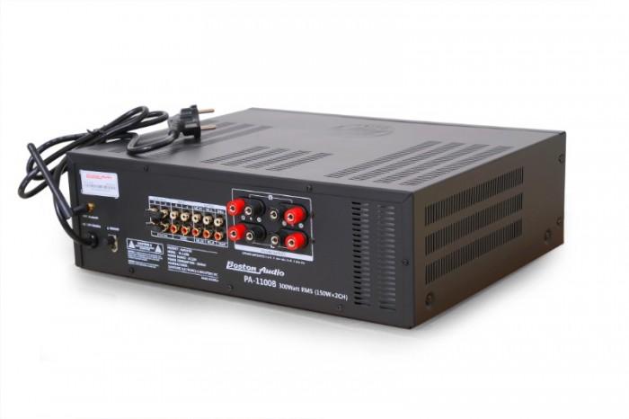 AMPLY BOSTON AUDIO PA-1100B tại Điện Máy Hải số 41 Lê Văn Ninh, P Linh Tây Chợ Thủ Đức là Đại lý Boston Audio tại Thủ Đức nên bán giảm giá đến 10% từ giá trên 7 triệu bán chỉ còn 6500K/ cái, 3