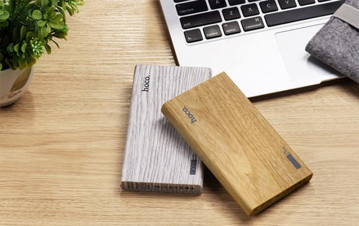 Sạc dự phòng bằng gỗ khắc logo doanh nghiệp3