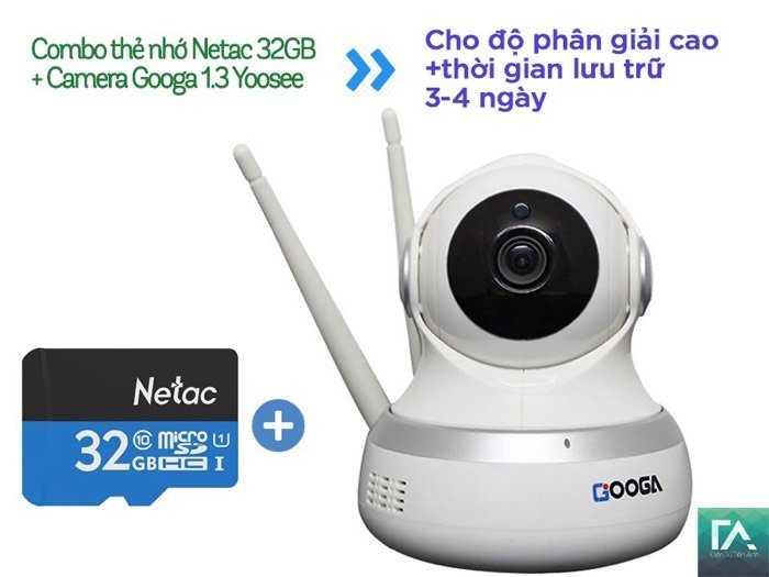 Camera IP/Wifi Googa 960P - chạy app Yoosee1