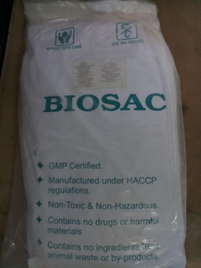 Men vi sinh gây màu nước BIOSAC0