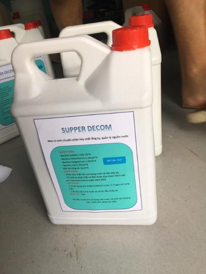 Men vi sinh chuyên phân hủy chất lắng tụ SUPPER DECOM0