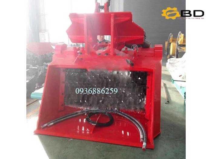 Gầu nghiền lắp máy xúc thuỷ lực OBD1