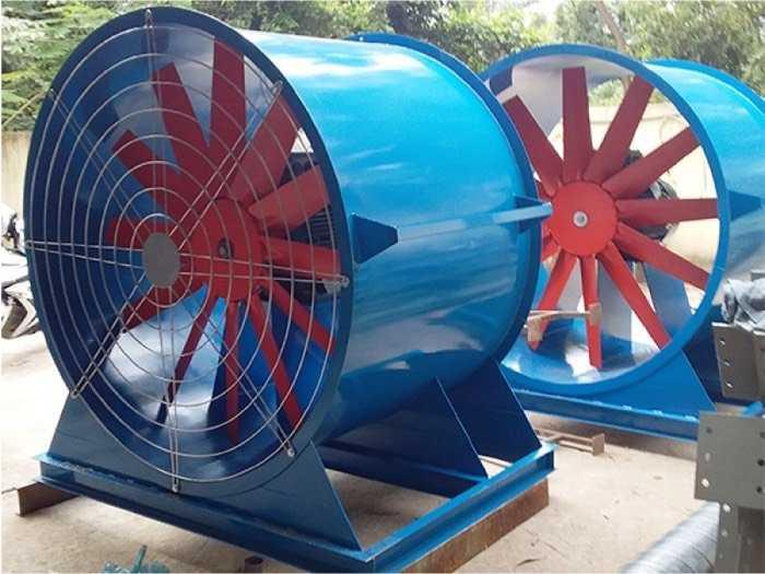 Quạt gió công nghiệp hướng trục điều khiển tần số điện2