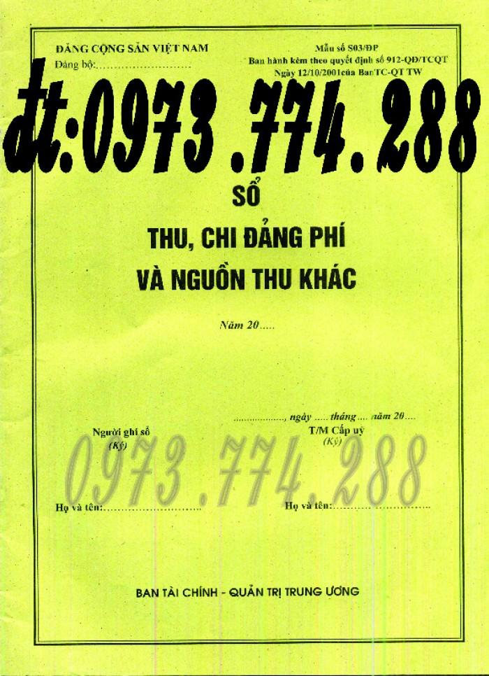 Bán sổ danh sách Đảng viên17