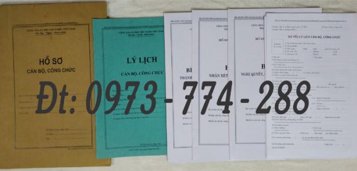 Bán mẫu B01 của bộ hồ sơ cán bộ, công chức0