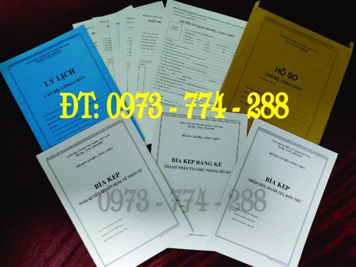 Bán mẫu B01 của bộ hồ sơ cán bộ, công chức6