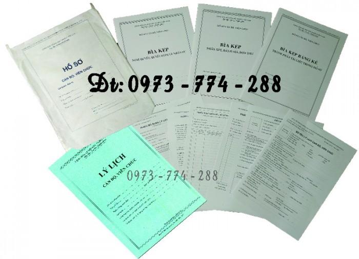 Bán mẫu B01 của bộ hồ sơ cán bộ, công chức10