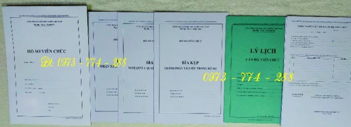 Bán mẫu B01 của bộ hồ sơ cán bộ, công chức13