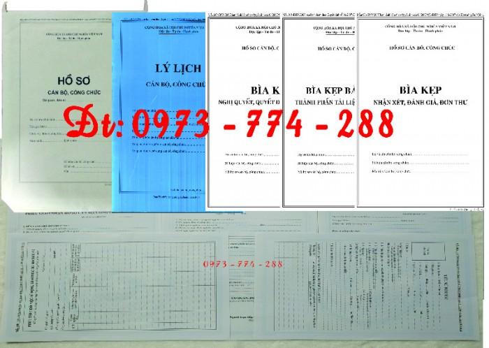 Bộ bìa kẹp hồ sơ cán bộ công chức15
