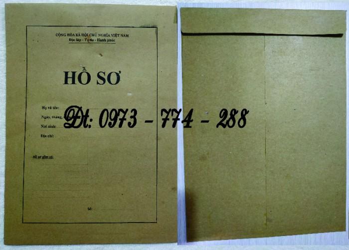 Bộ bìa kẹp hồ sơ cán bộ công chức20