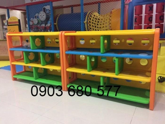 Cần bán kệ nhựa mầm non giá rẻ, chất lượng cao cho trẻ nhỏ2