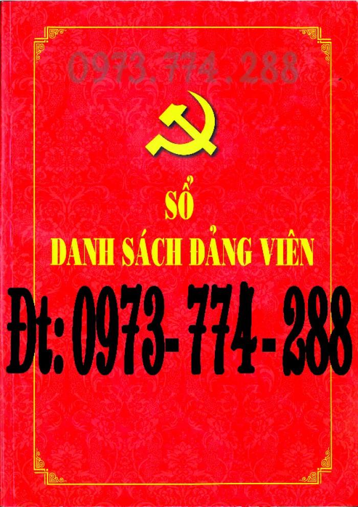 Sổ danh sách Đảng viên - Đảng Cộng Sản Việt Nam - Chi ủy - Chi bộ1