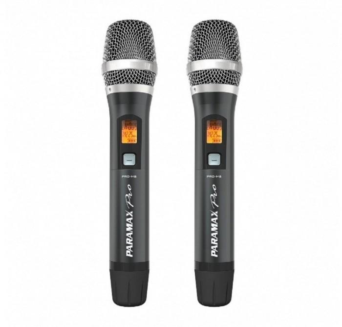 """Micro Paramax Pro M8  thế hệ """"thông minh"""" khả năng tái tạo âm thanh trung thực, phù hợp mọi chất giọng, giúp Quý khách karaoke như ca sĩ.3"""