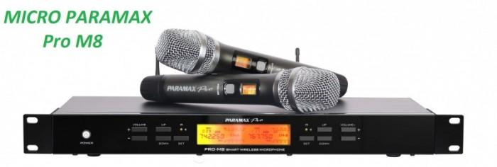 Micro Paramax Pro M8 hàng mới 100%, chính hãng 100%, bảo hành chính hãng toàn quốc 24 tháng0