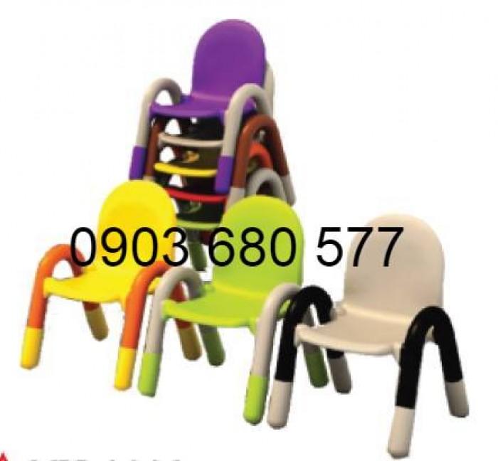 Cần bán ghế nhựa có tay vịn cho lớp mẫu giáo, trường mầm non5