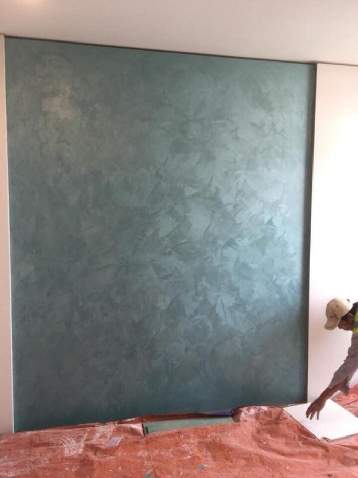 Hiệu ứng bê tông cashmere vải lụa6