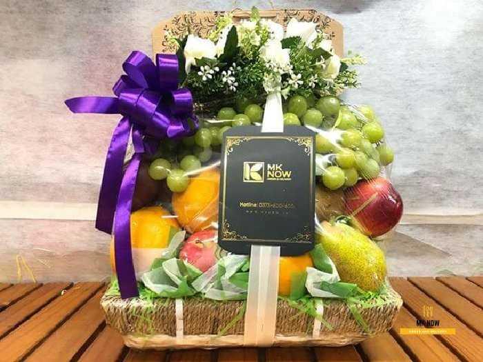 Giỏ trái cây kính viếng lãnh đạo - FSNK1160