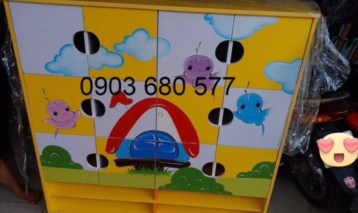 Cần bán tủ mầm non dành cho trẻ em giá rẻ, chất lượng tốt5