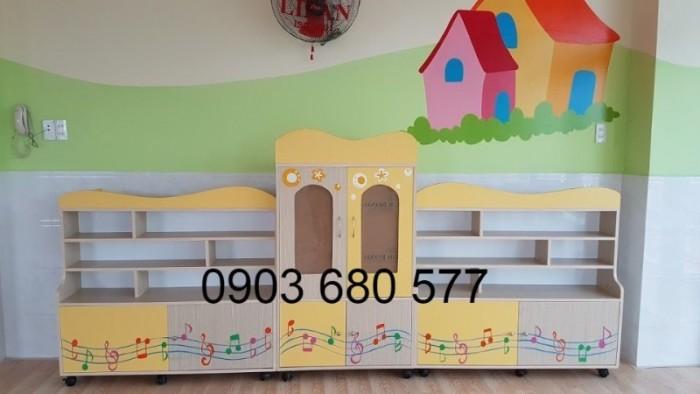 Cần bán tủ mầm non dành cho trẻ em giá rẻ, chất lượng tốt4
