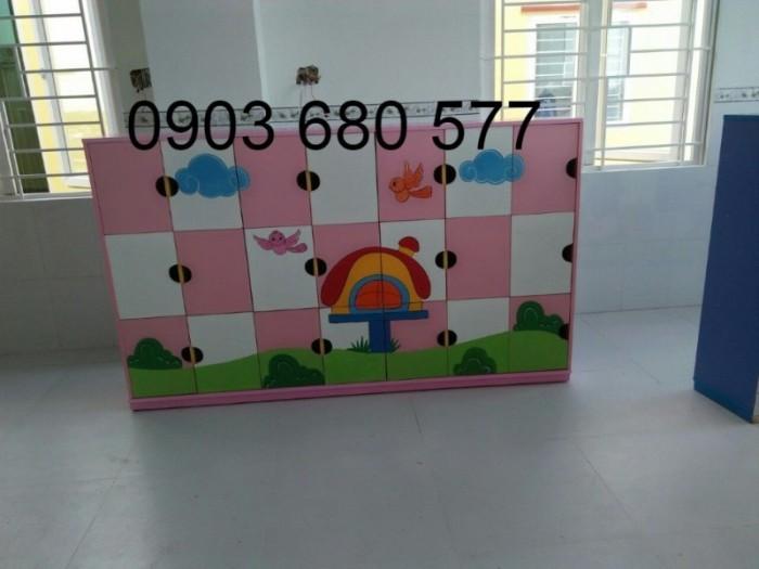 Cần bán tủ mầm non dành cho trẻ em giá rẻ, chất lượng tốt12