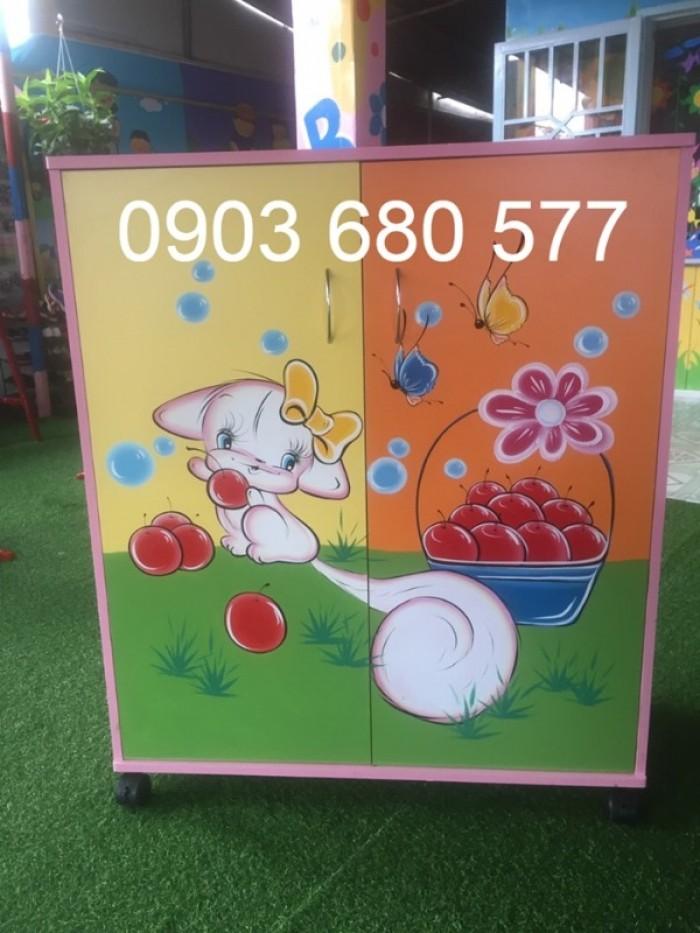 Cần bán tủ mầm non dành cho trẻ em giá rẻ, chất lượng tốt21