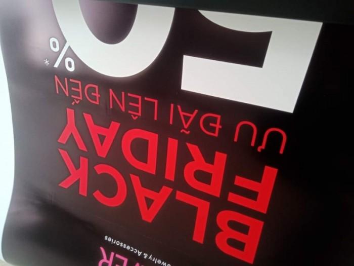 Tư vấn Máy in HongYing 1m85 - Máy in PP, decal giá rẻ
