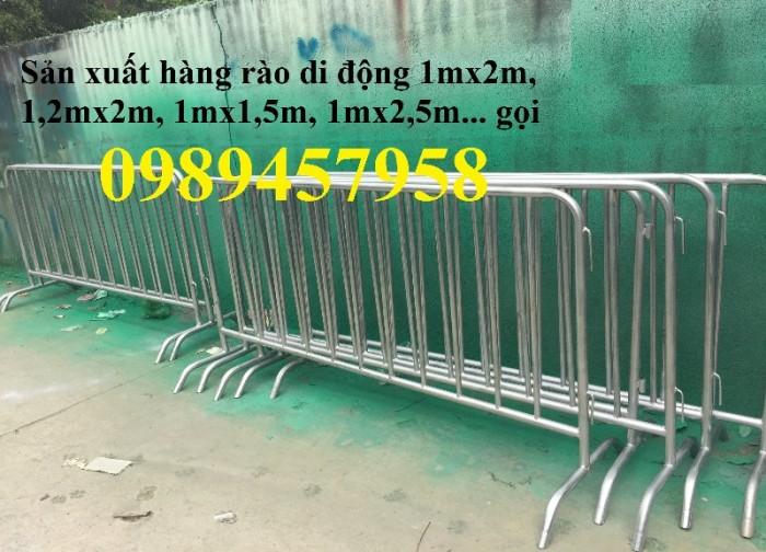 Hàng rào di động sản xuất 200-250 cái trong 7-9 ngày0