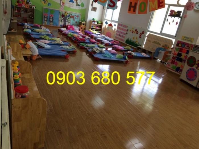 Chuyên bán giường ngủ lưới trẻ em cho trường mầm non, lớp mẫu giáo, gia đình9