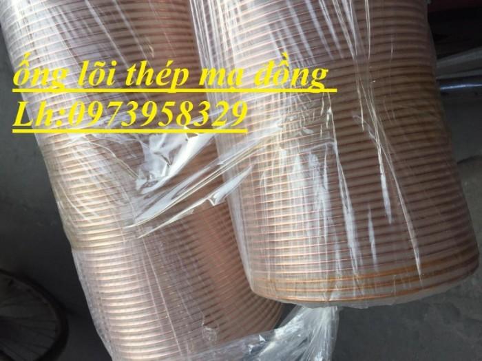 Sale cuối năm ống ruột gà lõi thép mạ đồng - chụi nhiệt - khí - áp suất -D40,D50,D60,D76,D90.D100.D120.D150,D2001