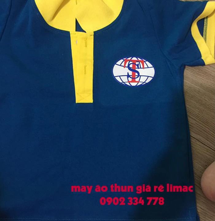 Xưởng sản xuất, chuyên áo thun đồng phục công ty, form chuẩn, may kỹ, in lụa, thêu vi tính0