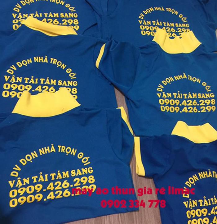 Xưởng sản xuất, chuyên áo thun đồng phục công ty, form chuẩn, may kỹ, in lụa, thêu vi tính4