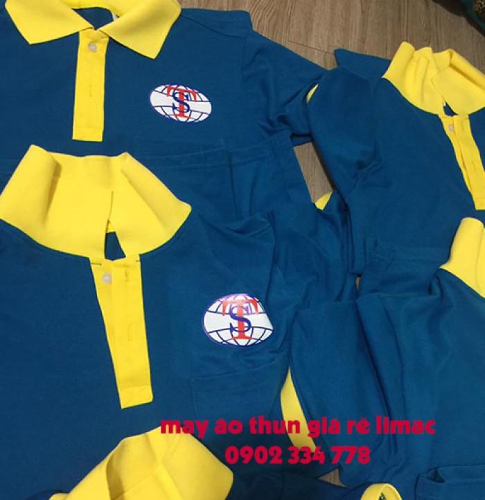 Xưởng sản xuất, chuyên áo thun đồng phục công ty, form chuẩn, may kỹ, in lụa, thêu vi tính5