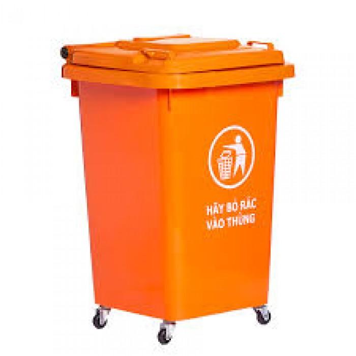 Bán thùng rác nhựa HDPE chất lượng cao, giá tốt, giao hàng tận nơi0