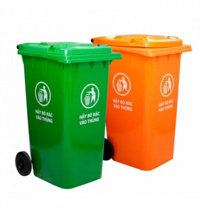 Bán thùng rác nhựa HDPE chất lượng cao, giá tốt, giao hàng tận nơi3
